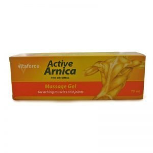 Vitaforce Active Arnica Massage Gel 75ml tube