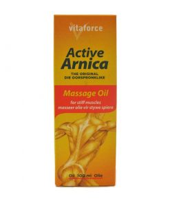Vitaforce Active Arnica Massage Oil 100ml bottle