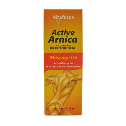 Vitaforce Active Arnica Massage Oil 100ml bottle