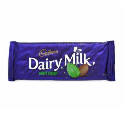 Dairy Milk Mint Crisp 150g