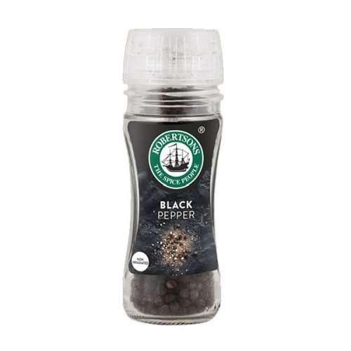 Robertsons Freshly Ground Grinders Pepper Grinder 100ml bottle