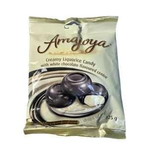 Amajoya Creamy Liquorice Candy 125g bag