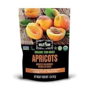 Tropical Treets Wild & Raw Organic Apricots 142g bag