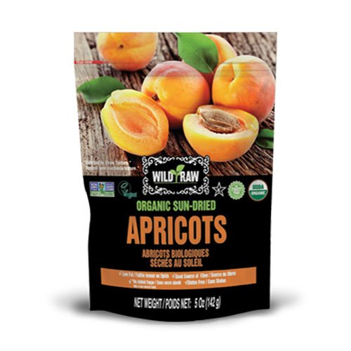 Tropical Treets Wild & Raw Organic Apricots 142g bag