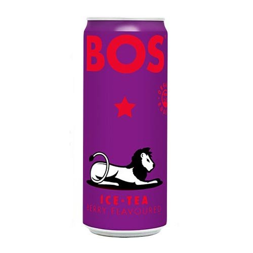 Bos Iced Tea Berry 4 X330ml cans