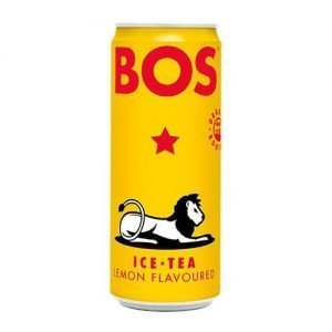 Bos Iced Tea Lemon 4 x 330ml cans