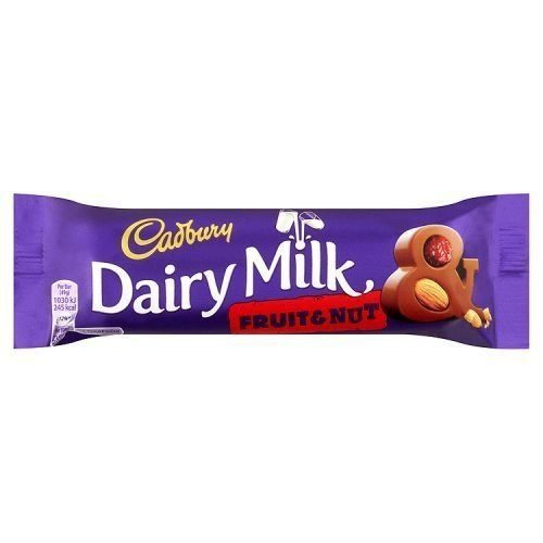 Cadbury Fruit and Nut 49g