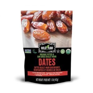 Tropical Treets Wild & Raw Organic Dates 142g bag