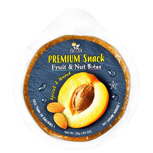 Tropical Treets Fit Fit Apricot & Almond Snack Bites 25g