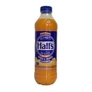 Hall's Concentrate Mango Orange 1 Litre bottle
