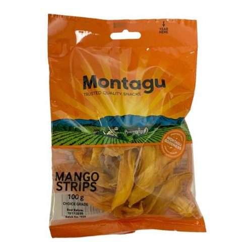 Montagu Mango Strips 100g