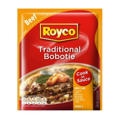 Royco Cook in Sauce Traditional Bobotie 50g sachet