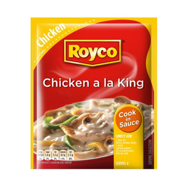 Royco Cook in Sauce Chicken a la King 54g sachet