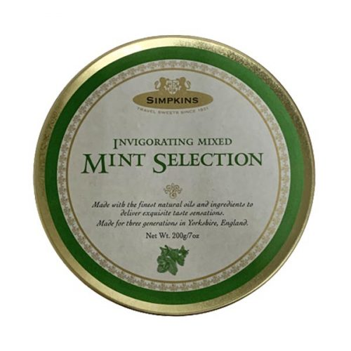 Simpkins Mint Selection Travel Sweets 200g tin