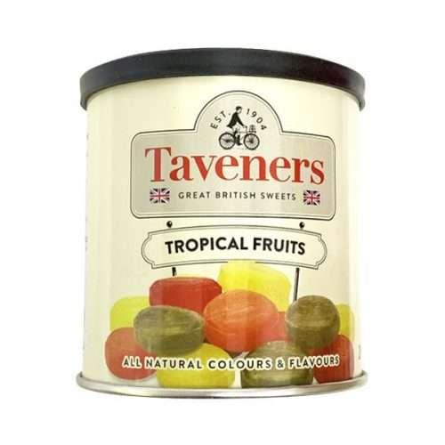 Taveners Tropical Fruits 200g tin