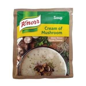 Knorr Soup Cream of Mushroom 50g sachet