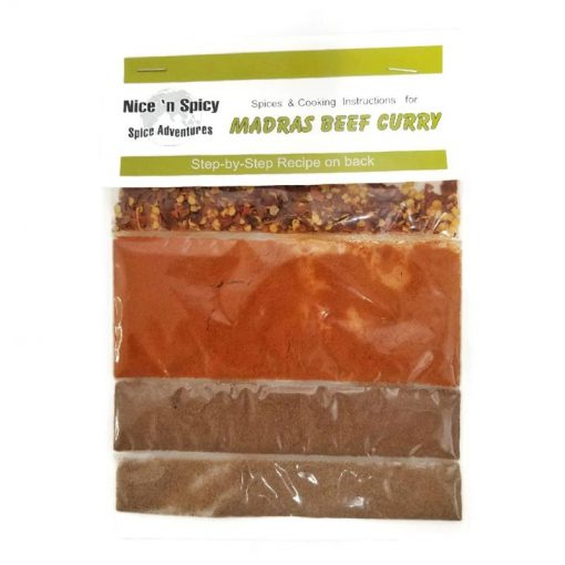 Nice 'n Spicy Madras Beef Curry sachet