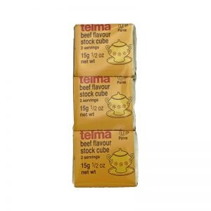 Telma Beef Flavour 3x15g cubes