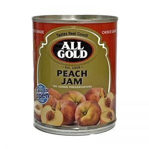 All Gold Jam Peach Smooth 450g can