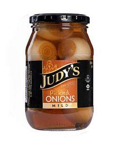 Judys Pickled Onions Mild 780g bottle
