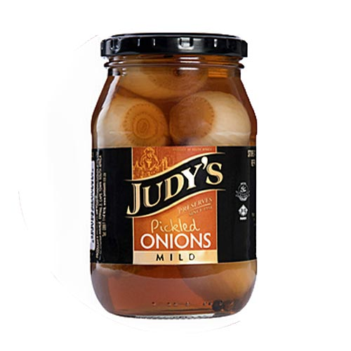 Judys Pickled Onions Mild 780g bottle