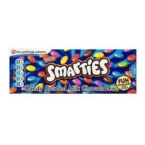 Nestle Smarties 70g box