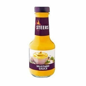 Steers Sauce Mustard 375ml bottle