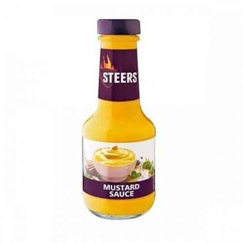 Steers Sauce Mustard 375ml bottle