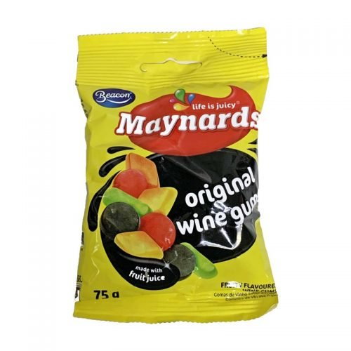 Maynards Mini Wine Gums 75g packet