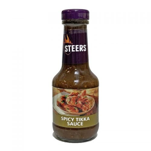Steers Sauce Spicy Tikka 375ml bottle