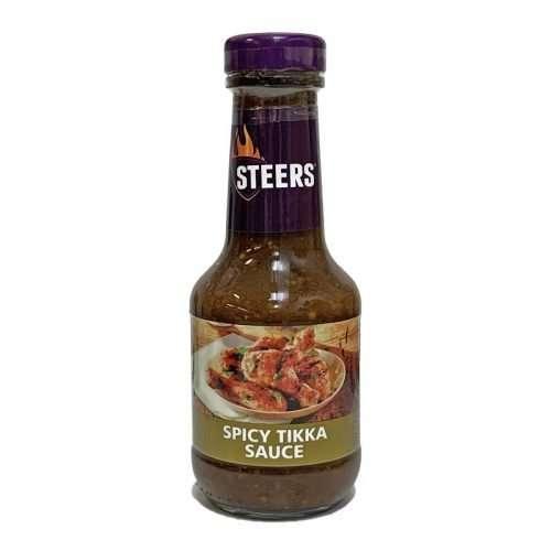 Steers Sauce Spicy Tikka 375ml bottle