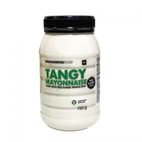 Woolworths Tangy Mayonaise 750g