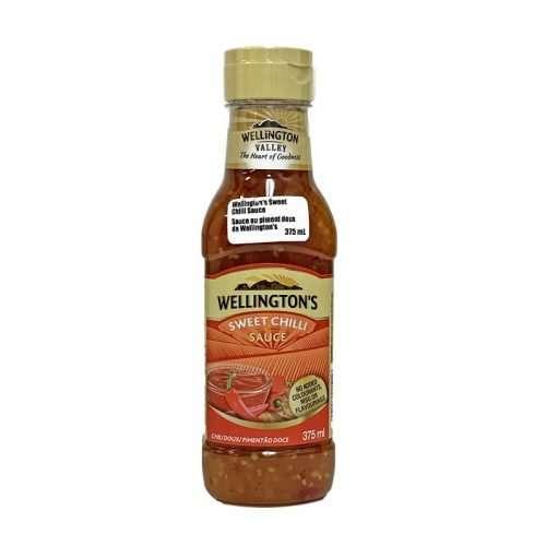 Wellington's Sweet Chilli Sauce 375ml s/bottle