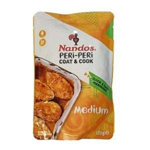 Nando`s Peri-Peri Coat &Cook Medium 120g pack