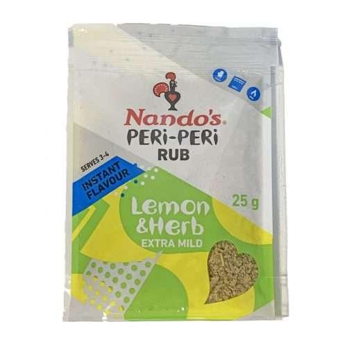 Nando's Peri-Peri Rub Lemon & Herb 25g
