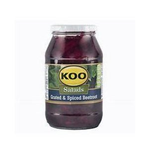 KOO Beetroot Salad Grated & Spiced 780g jar