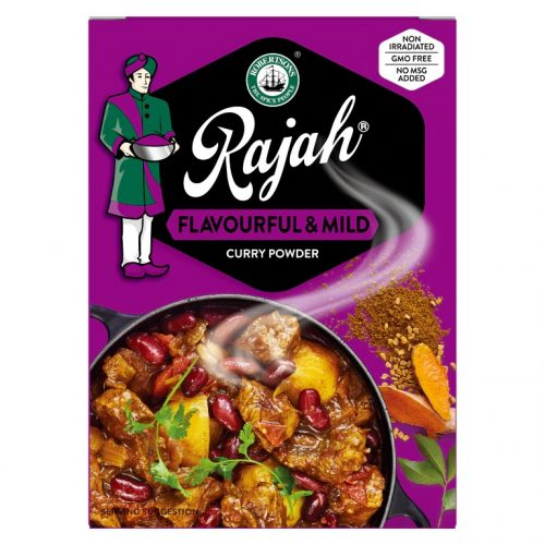 Rajah Curry Powder Flavourful & Mild 50g pack
