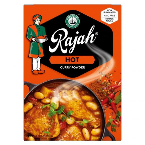 Rajah Curry Powder Hot 50g pack