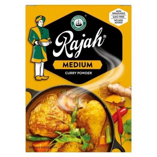 Rajah Curry Powder Medium 50g pack