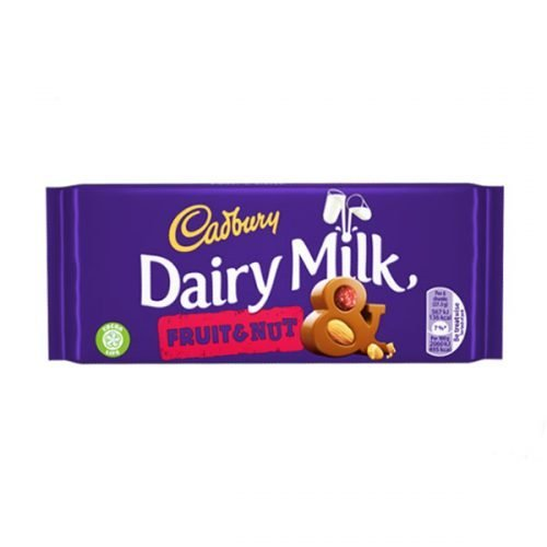 Cadbury Fruit and Nut 200g bar (eng)