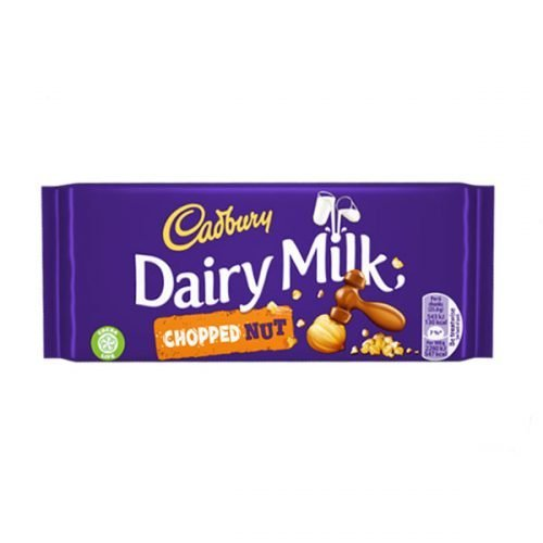 Cadbury Nut Chopped 95g bar (eng)