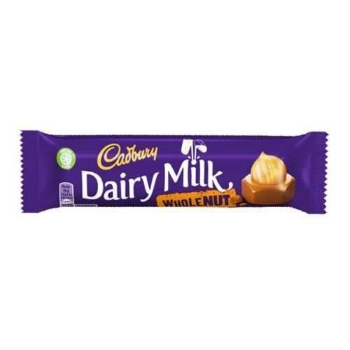 Cadbury Wholenut 45g bar (eng)