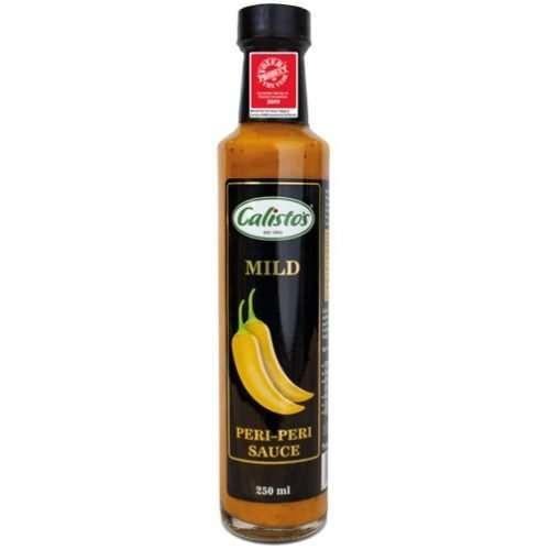 Calisto's Peri-Peri Sauce Mild 250ml bottle