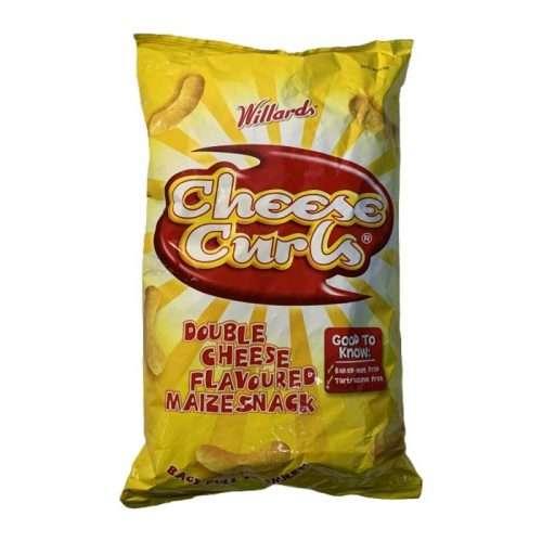 Willards Cheese Curls Maize Snack 150g