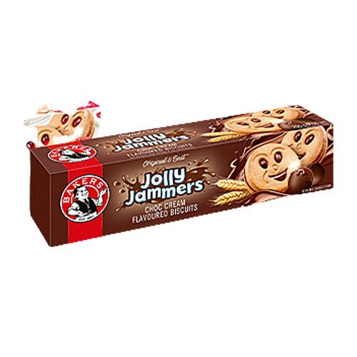 Bakers Jolly Jammers Chocolate 200g