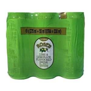 Rose's Pre-Mixed Lime & Lemonade 6x330ml