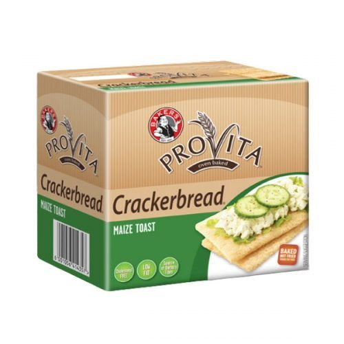 Bakers Crackerbread Maize 125g pack