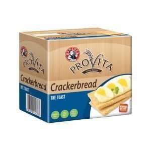 Bakers Crackerbread Rye 125g pack