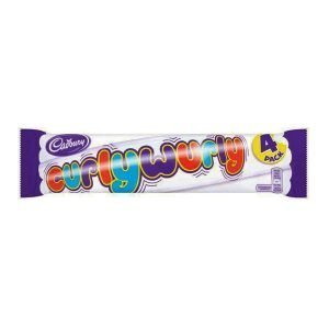 Cadbury Curlywurly 4 pack 104g