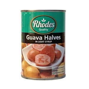Rhodes Canned Fruit Guava Halves 410g can